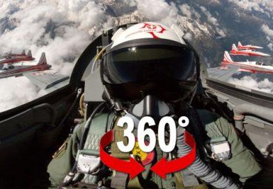 360 VR Fighter Jet