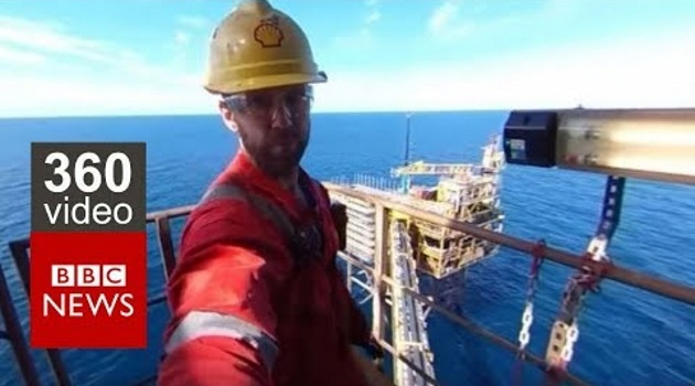 360 VR Life on an Oil Rig
